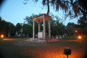 Button Gwinnett's grave.